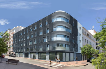 New build apartments with parking in Mahon centre